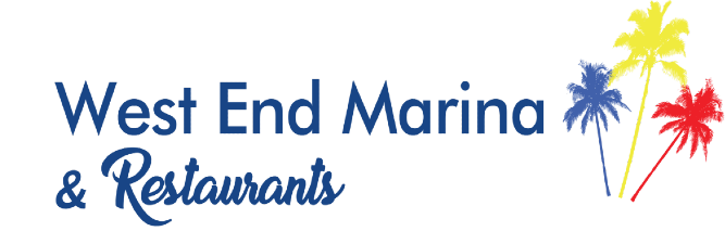 The West End Marina and Restaurants Logo